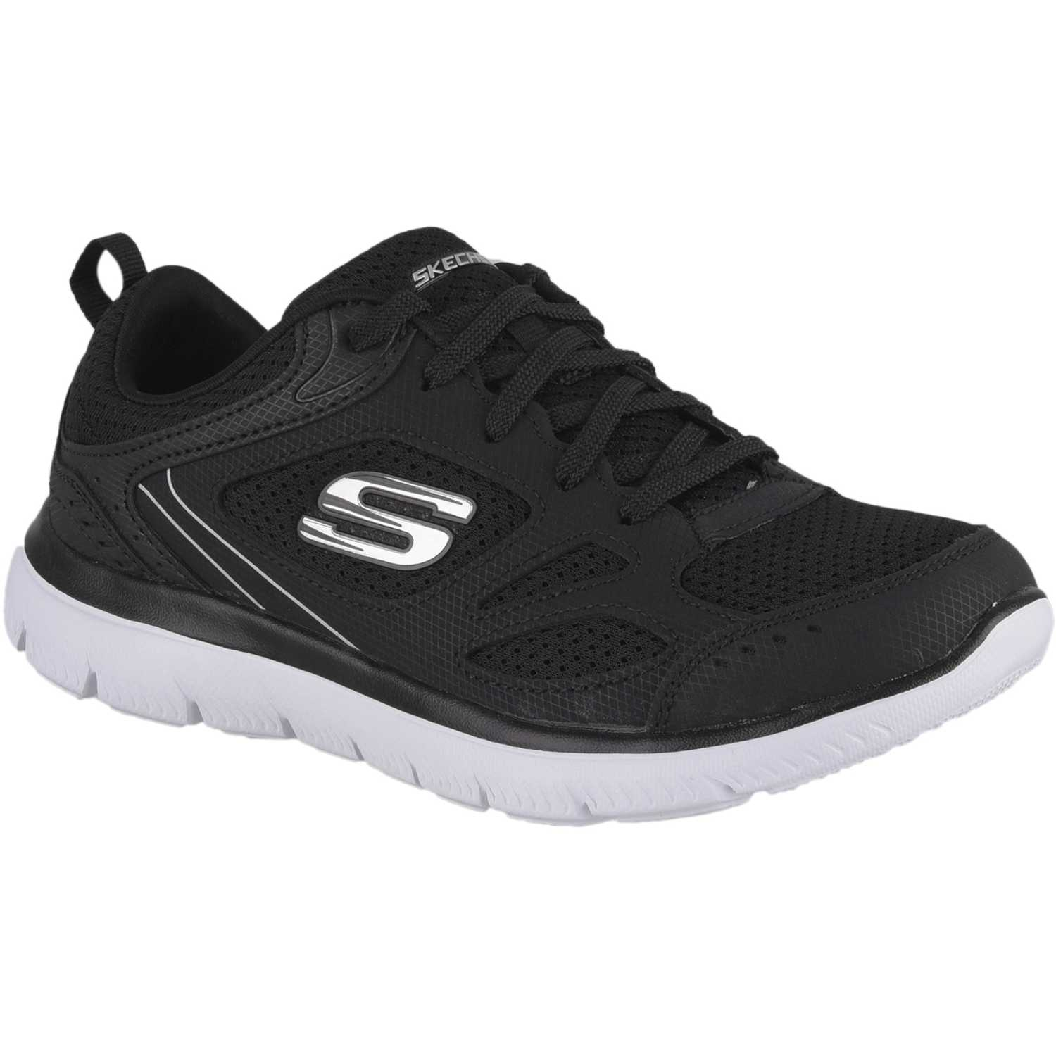 Skechers summits Negro / plomo Walking