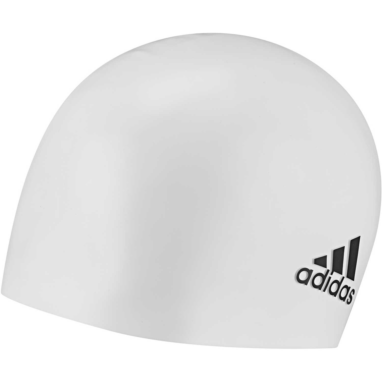 Adidas sil cp logo 1pc Blanco gorros de natación