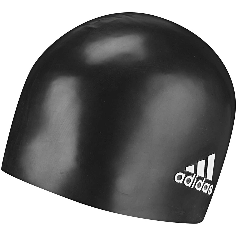 Adidas sil cp logo 1pc Negro gorros de natación