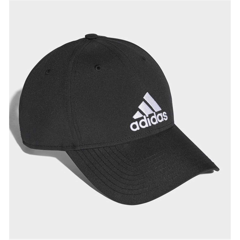 Adidas 6pcap ltwgt emb Negro Gorros de Baseball