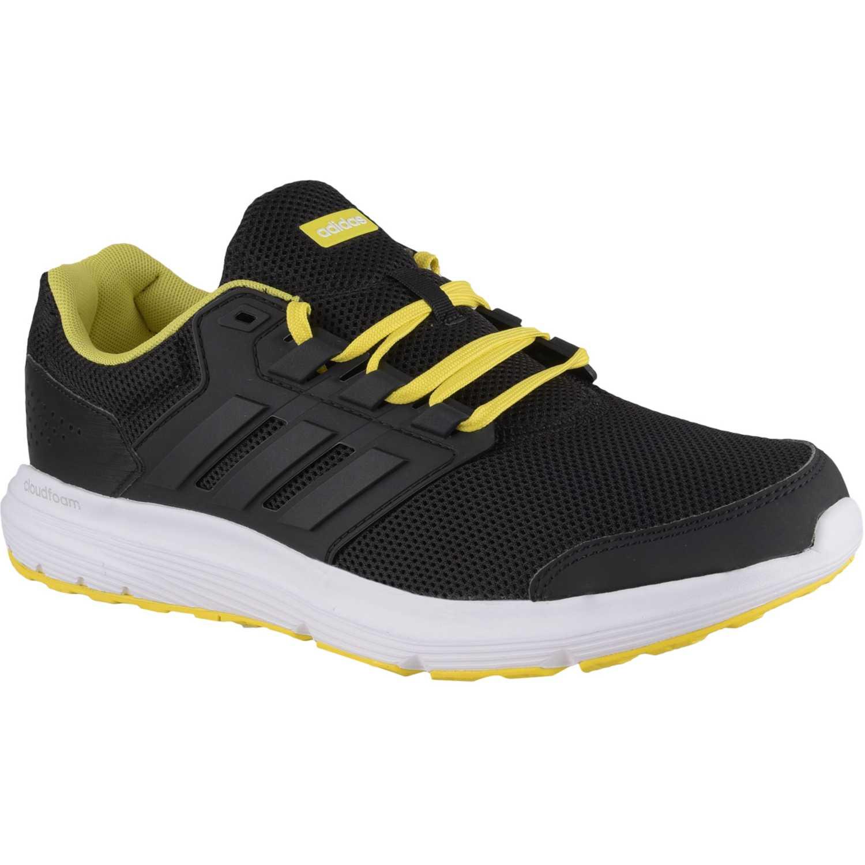Adidas galaxy 4 m Negro amarillo Trail Running