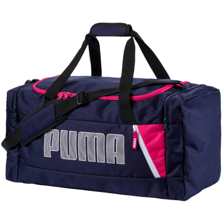 Puma fundamentals sports bag m ii Azul Bolsos de gimnasio