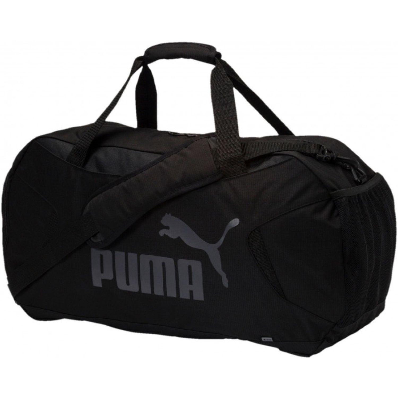 Puma Gym Duffle Bag S NEGRO / GRIS Bolsos de gimnasio