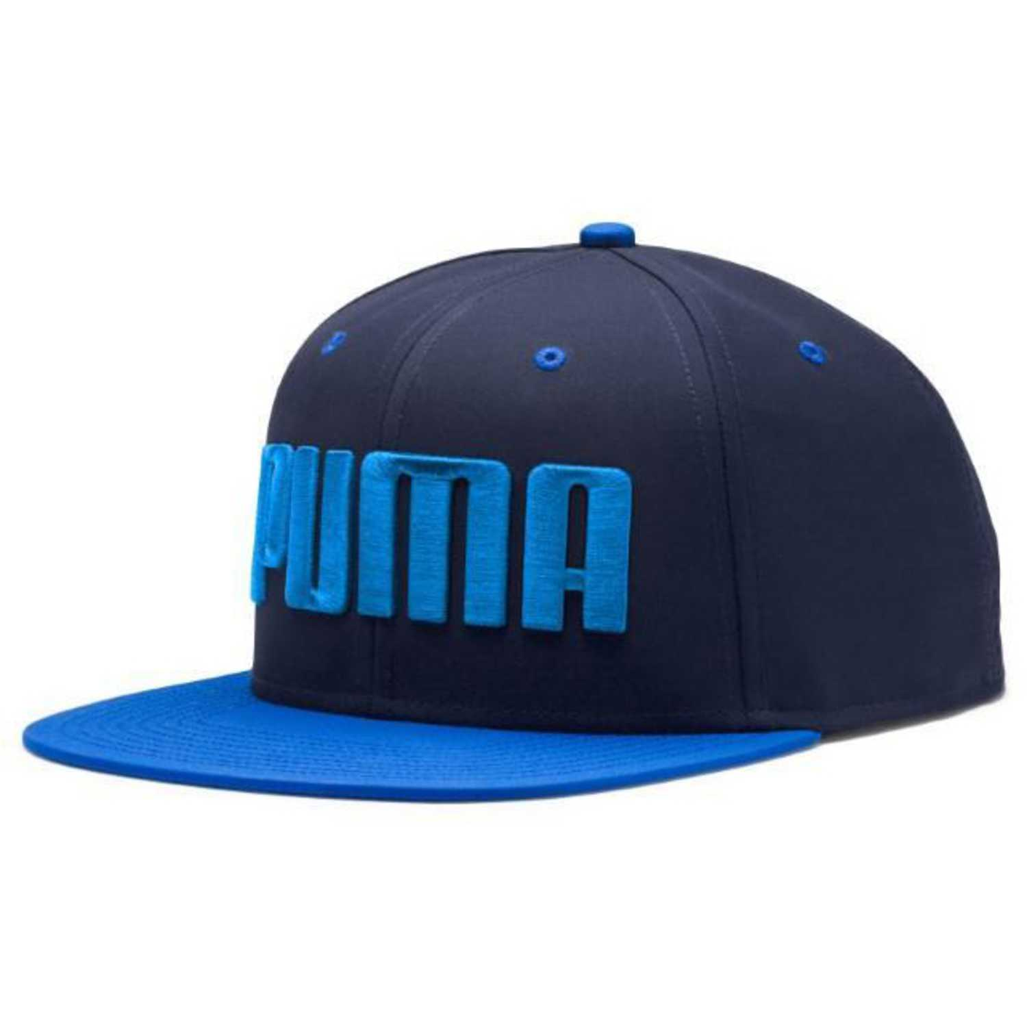 Puma puma flatbrim cap Azul / azulino Gorros de Baseball