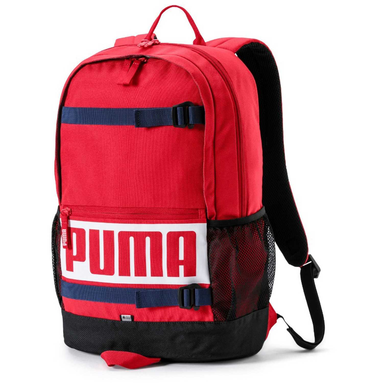 Puma puma deck backpack Rojo / blanco Mochilas Multipropósitos