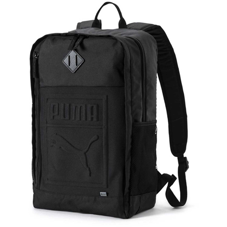 Puma puma s backpack Negro Mochilas Multipropósitos