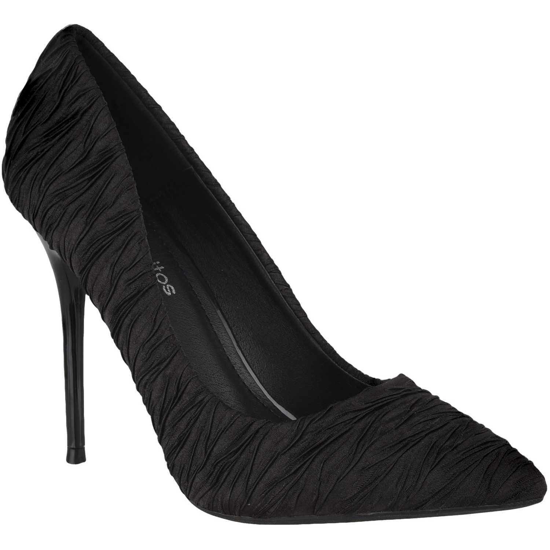 Calzado de Mujer Platanitos Negro cv 2413
