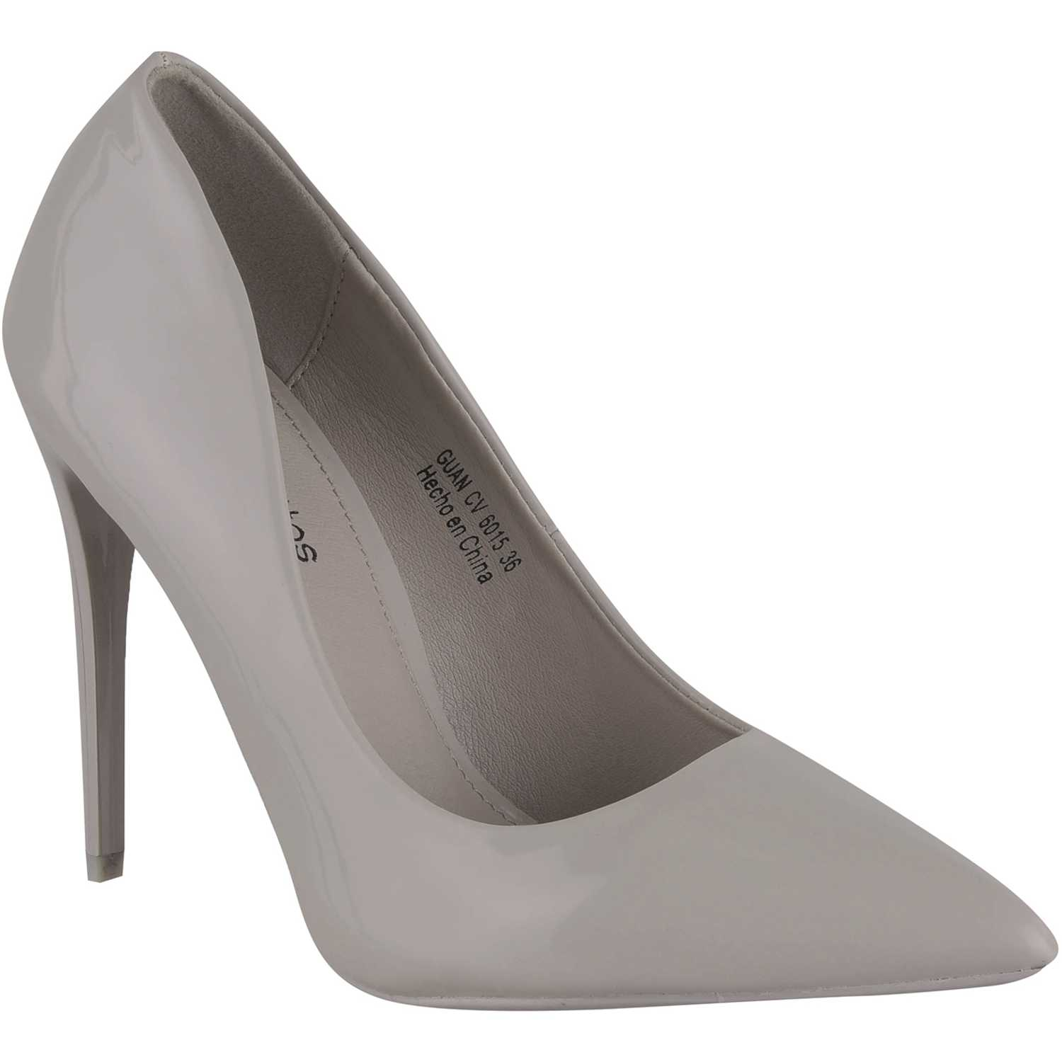 Platanitos cv 6015 Gris Estiletos y Pumps