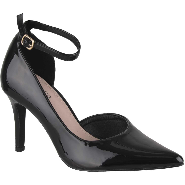 Calzado de Mujer Platanitos Negro cv 2684
