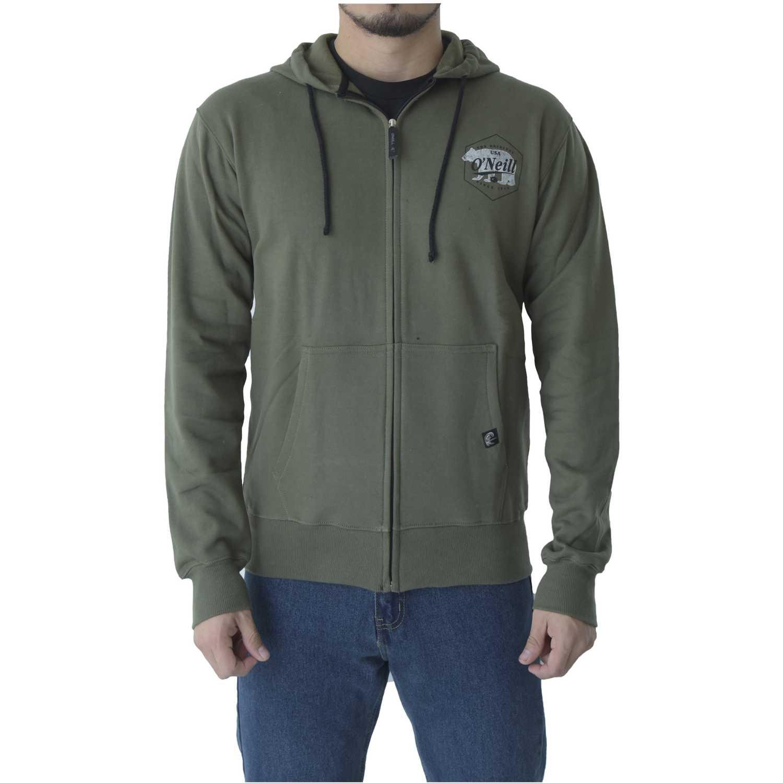 Casaca de Mujer ONEILL Verde wind jammer zip hoodie