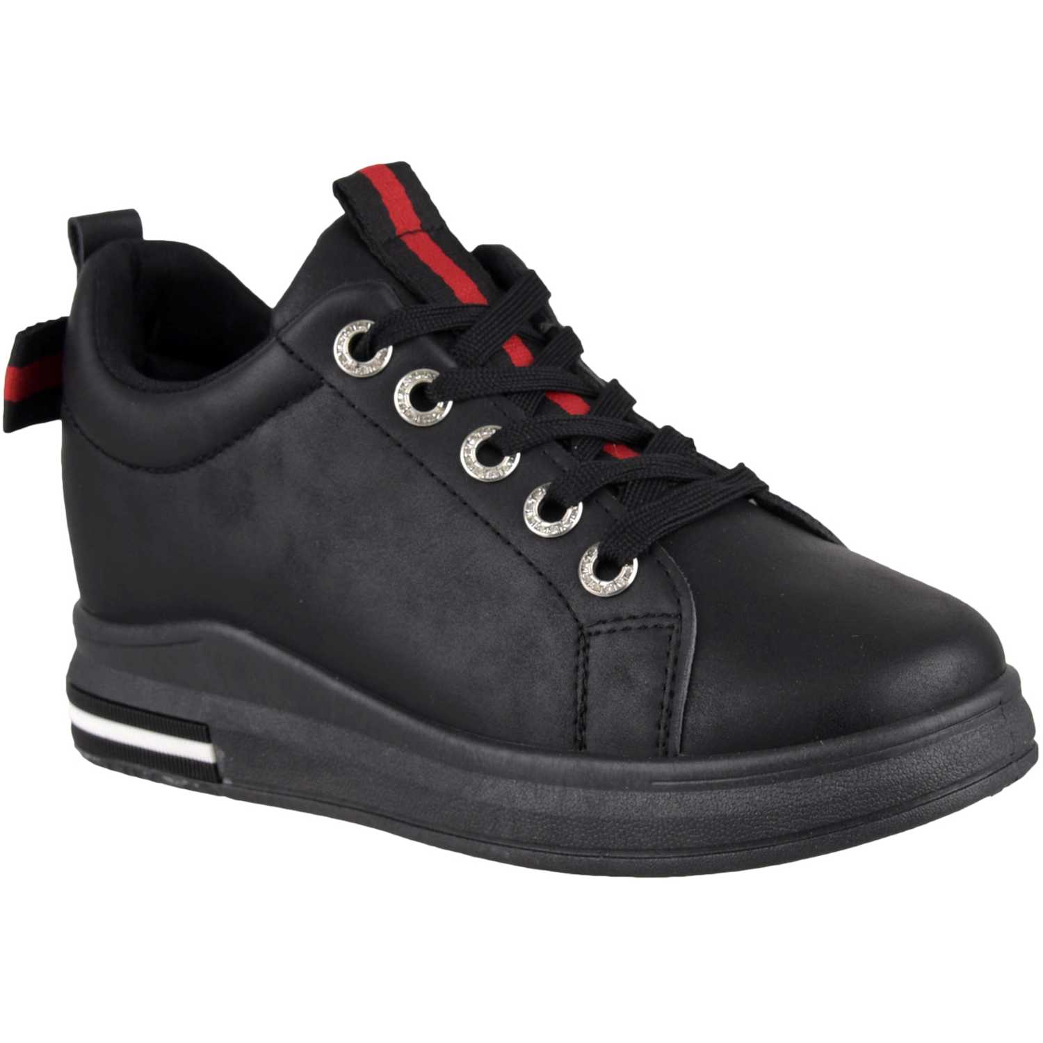 Platanitos zw 8469 Negro Zapatillas Fashion