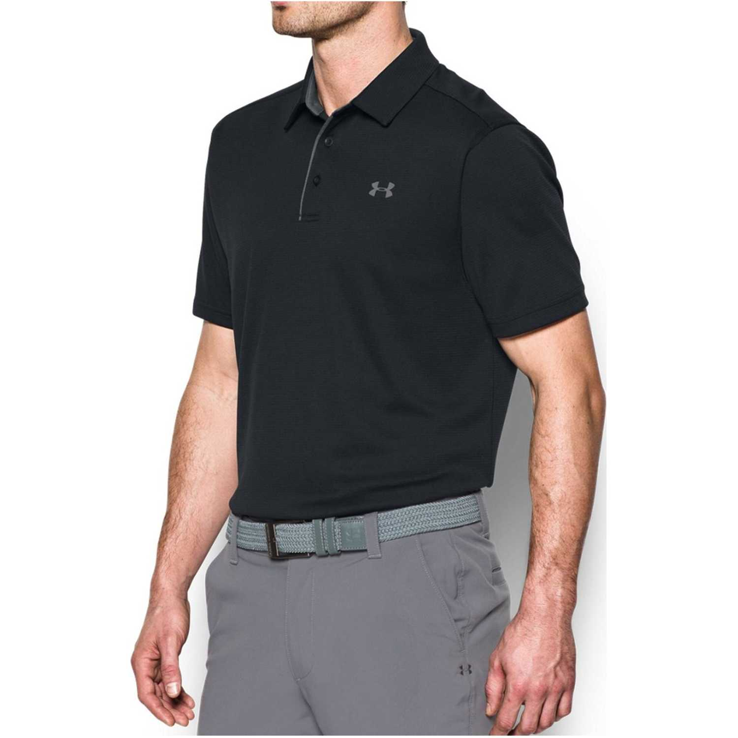 Under Armour Tech Polo Negro Camisetas y polos deportivos