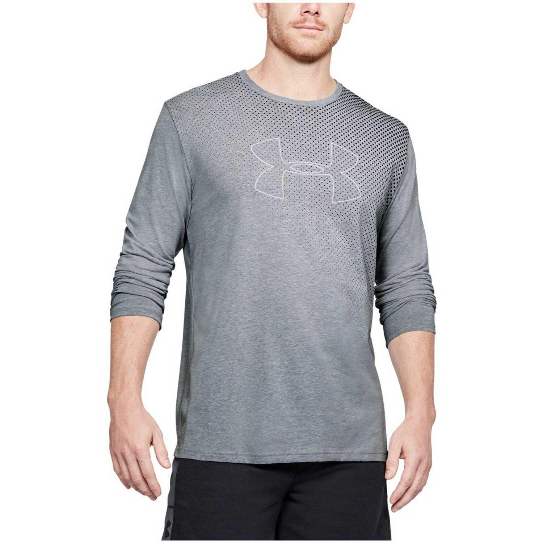 Under Armour q1 branded gradient ls Gris Camisetas y Polos Deportivos