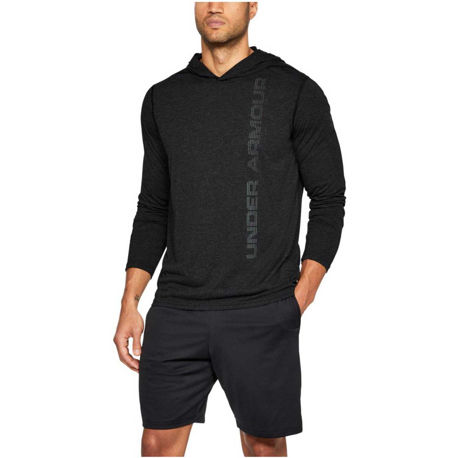 Under Armour ua threadborne hoody Negro Hoodies y Sweaters Fashion