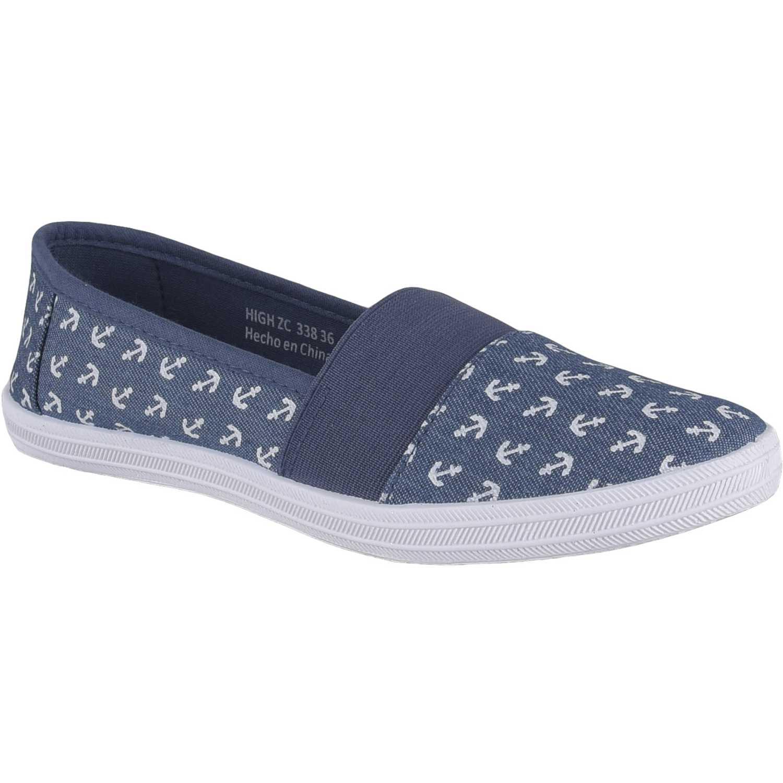 Zapatillas de Mujer Just4u Azul zc 338