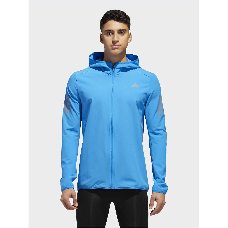 Deportivo de Niña Adidas Celeste response jacket