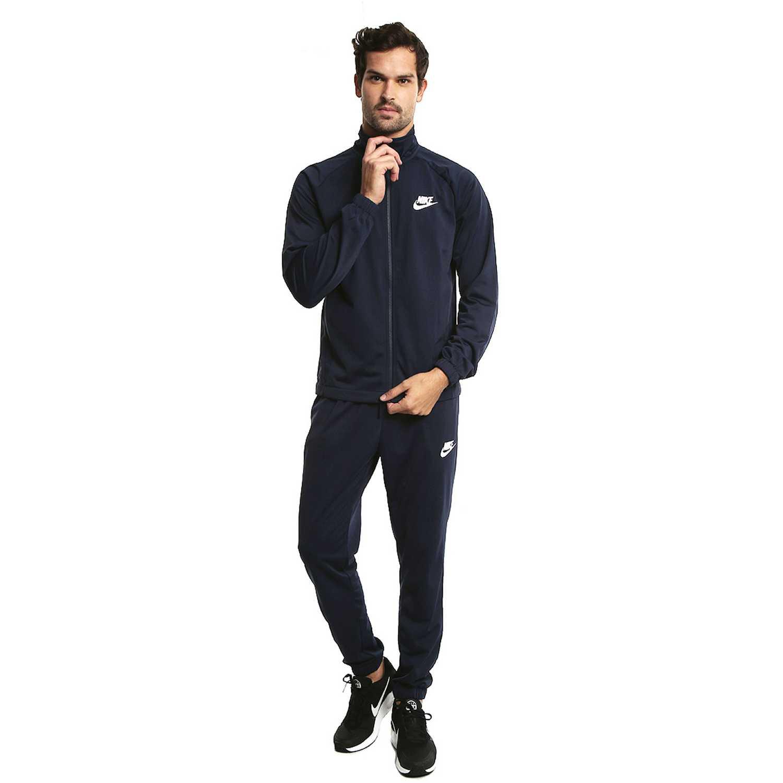 Nike m nsw trk suit pk basic Azul Buzos Deportivos