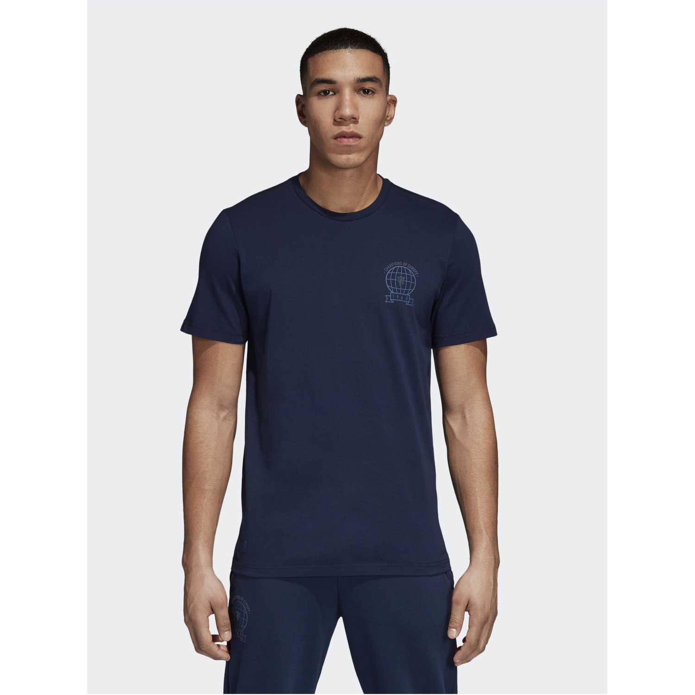Adidas mufc gra tee Navy Camisetas y Polos Deportivos