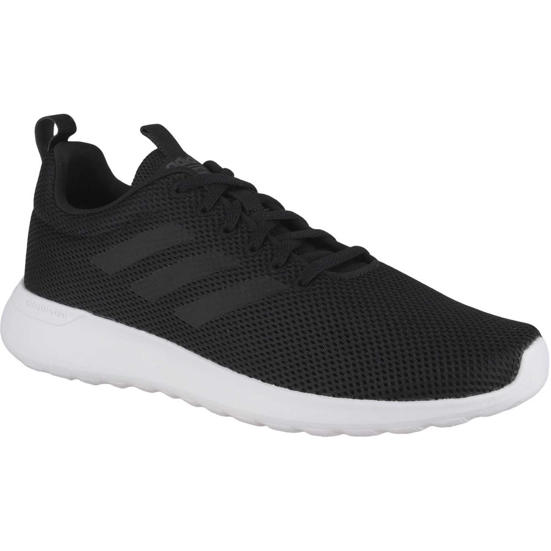 Adidas lite racer cln Negro Running en pista