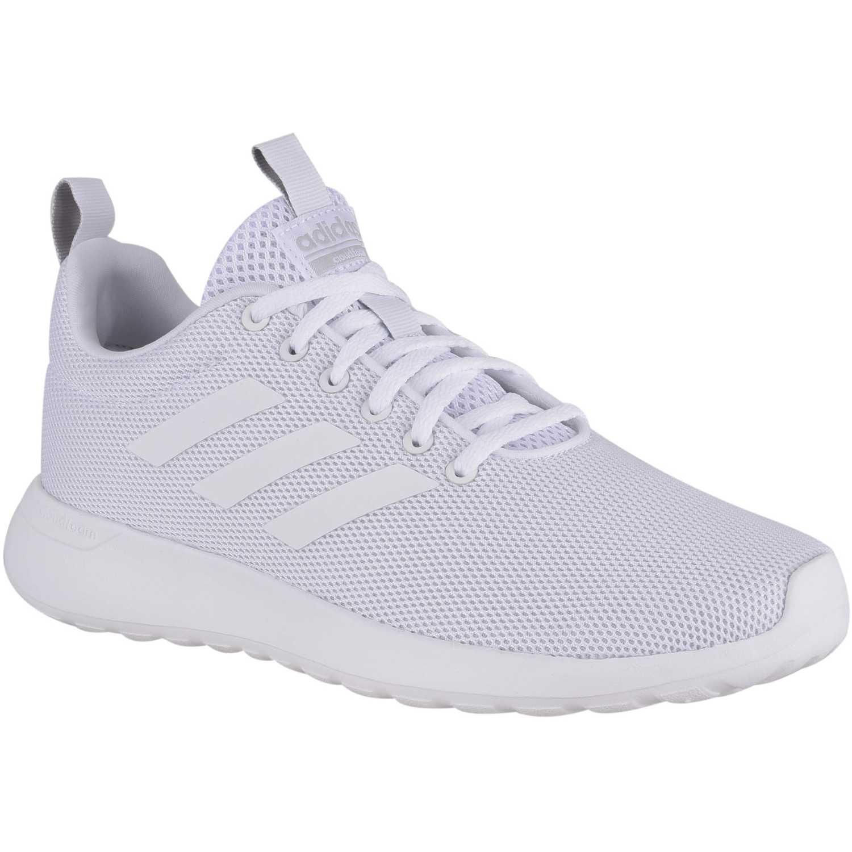Adidas lite racer cln Blanco Running en pista | platanitos.com