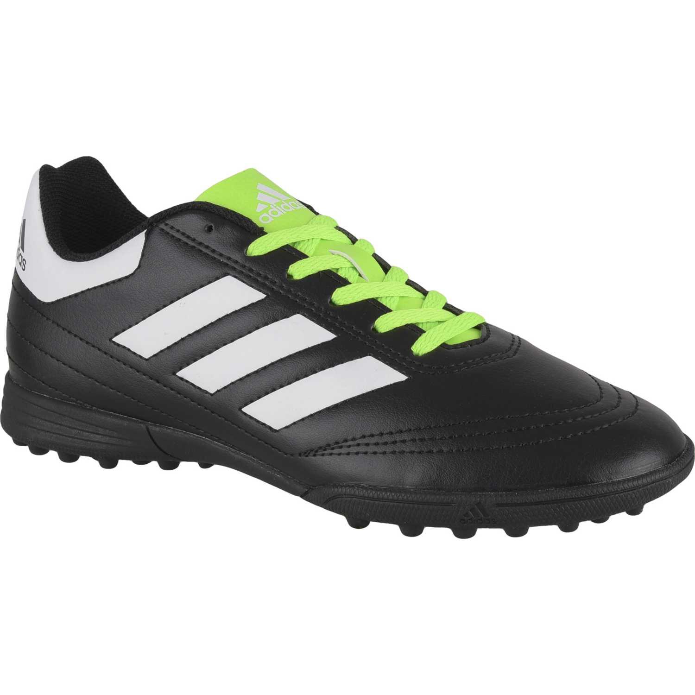 Adidas goletto vi tf j Negro / verde Hombres