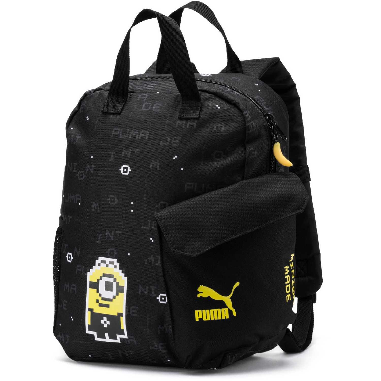 Mochila de Niño Puma Negro / amarillo minions backpack