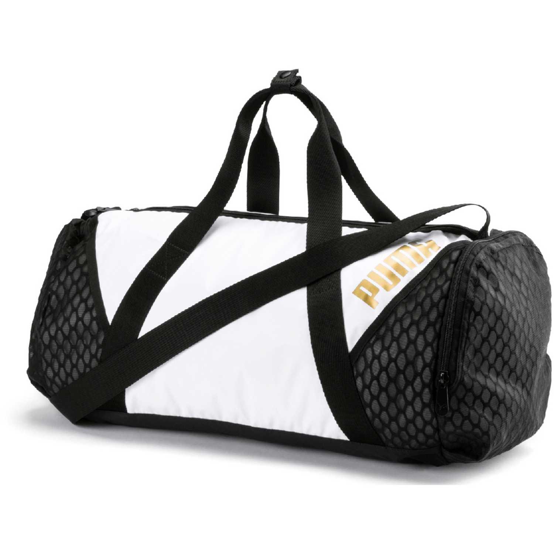 Deportivo de Mujer Puma Negro / blanco ambition barrel bag