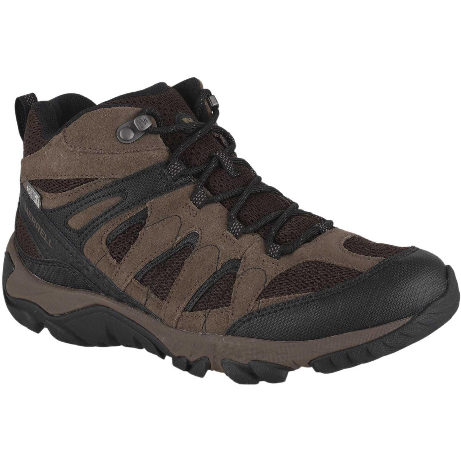 Merrell outmost mid vent wp Camel Calzado hiking