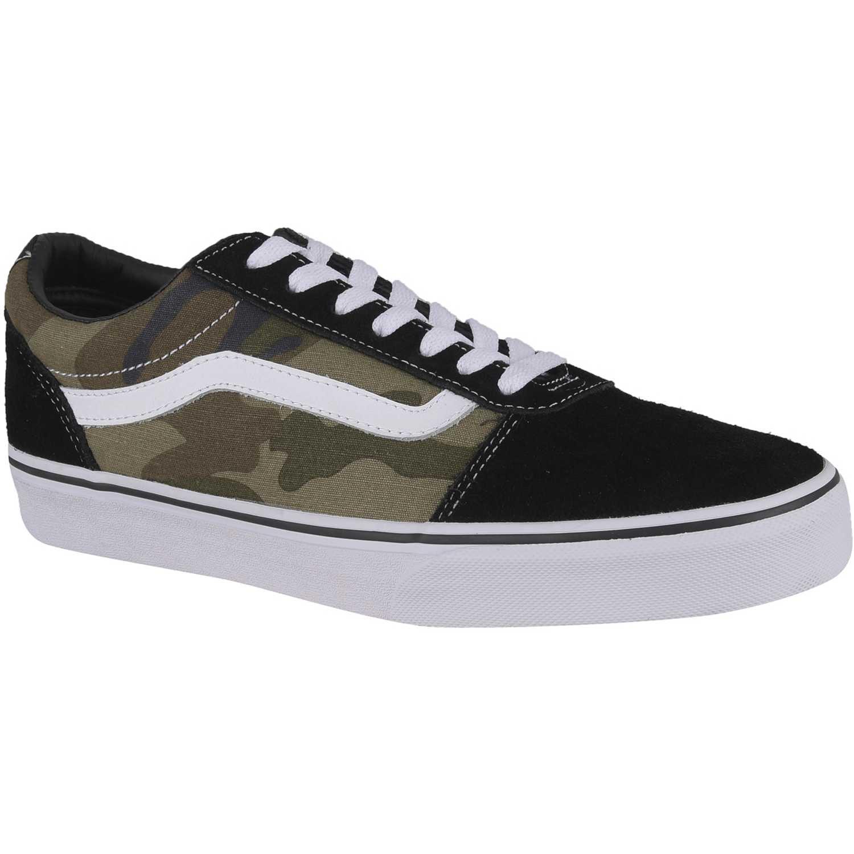 zapatillas vans verde militar