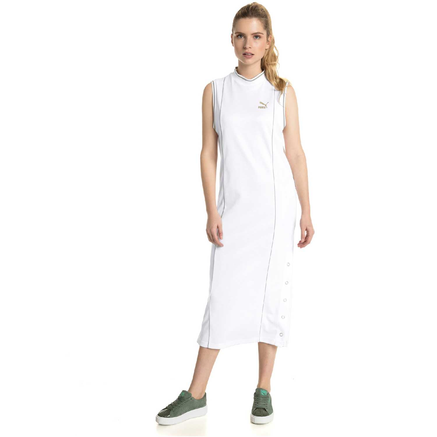 Puma retro dress Blanco Casual