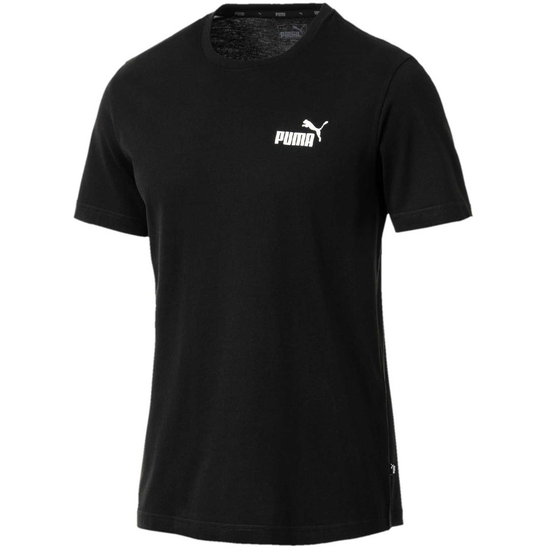 Puma ESS Small Logo Tee Negro Camisetas y Polos Deportivos