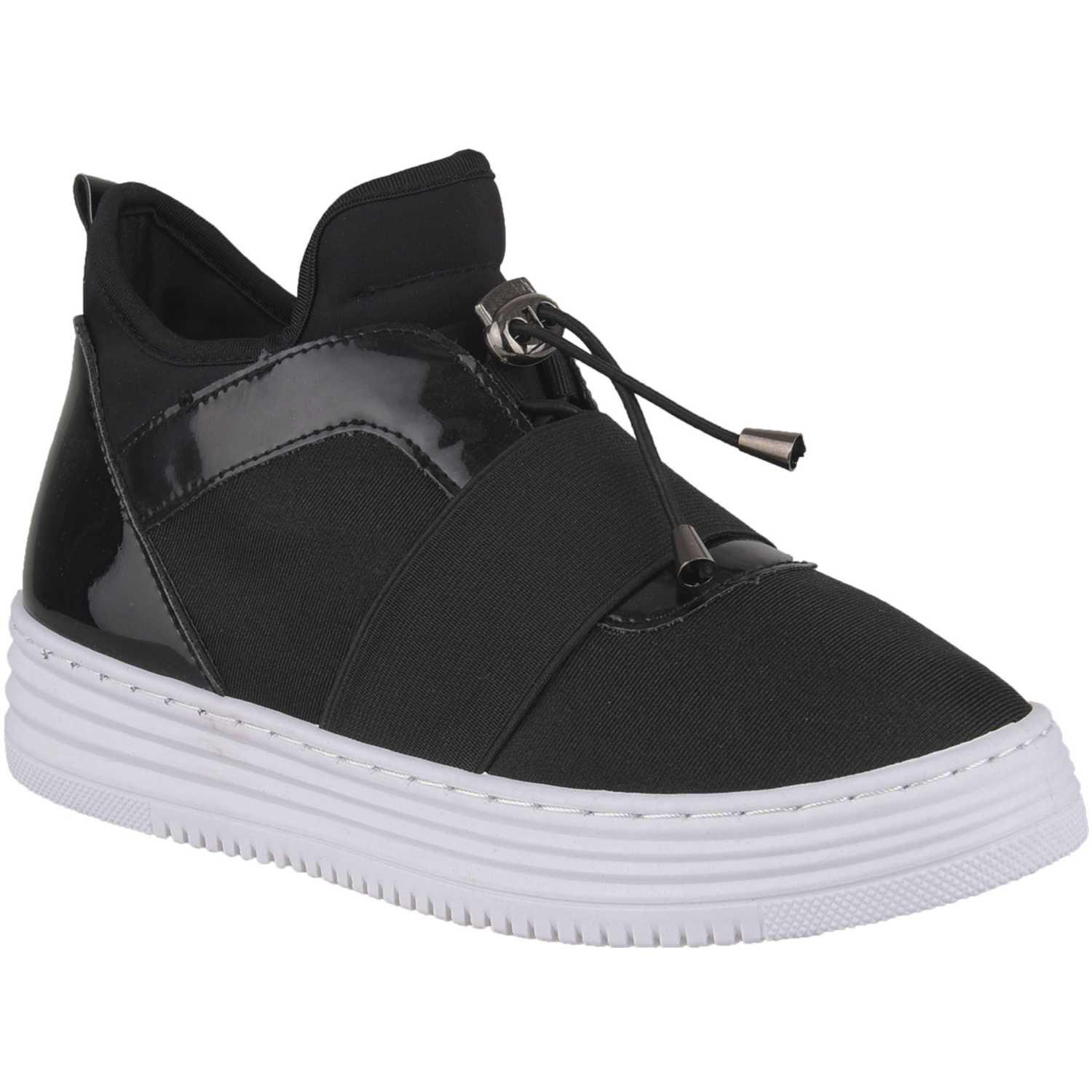 Just4u Zc 7c15 Negro Zapatillas Fashion