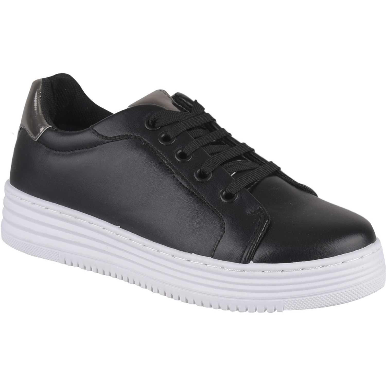 Just4u zc 7c16 Negro Zapatillas Fashion