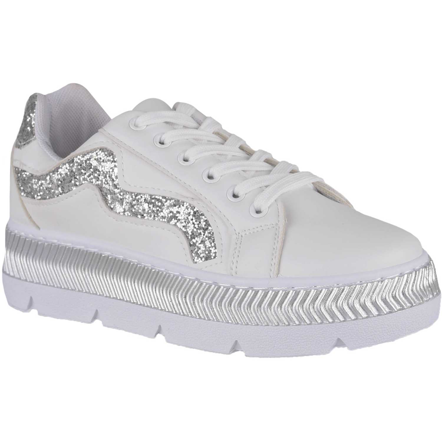 Just4u ZC 146 Blanco Zapatillas Fashion