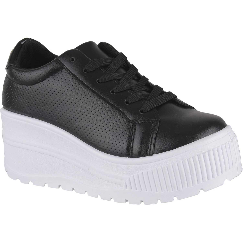 Just4u Zw 7c01 Negro Zapatillas de moda