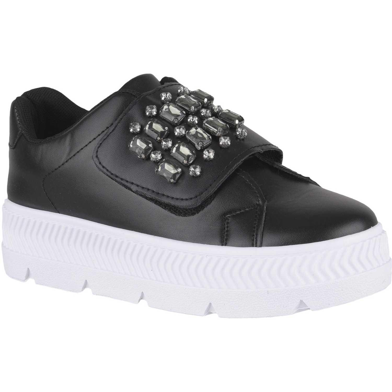 Just4u zc 7c12 Negro Zapatillas Fashion