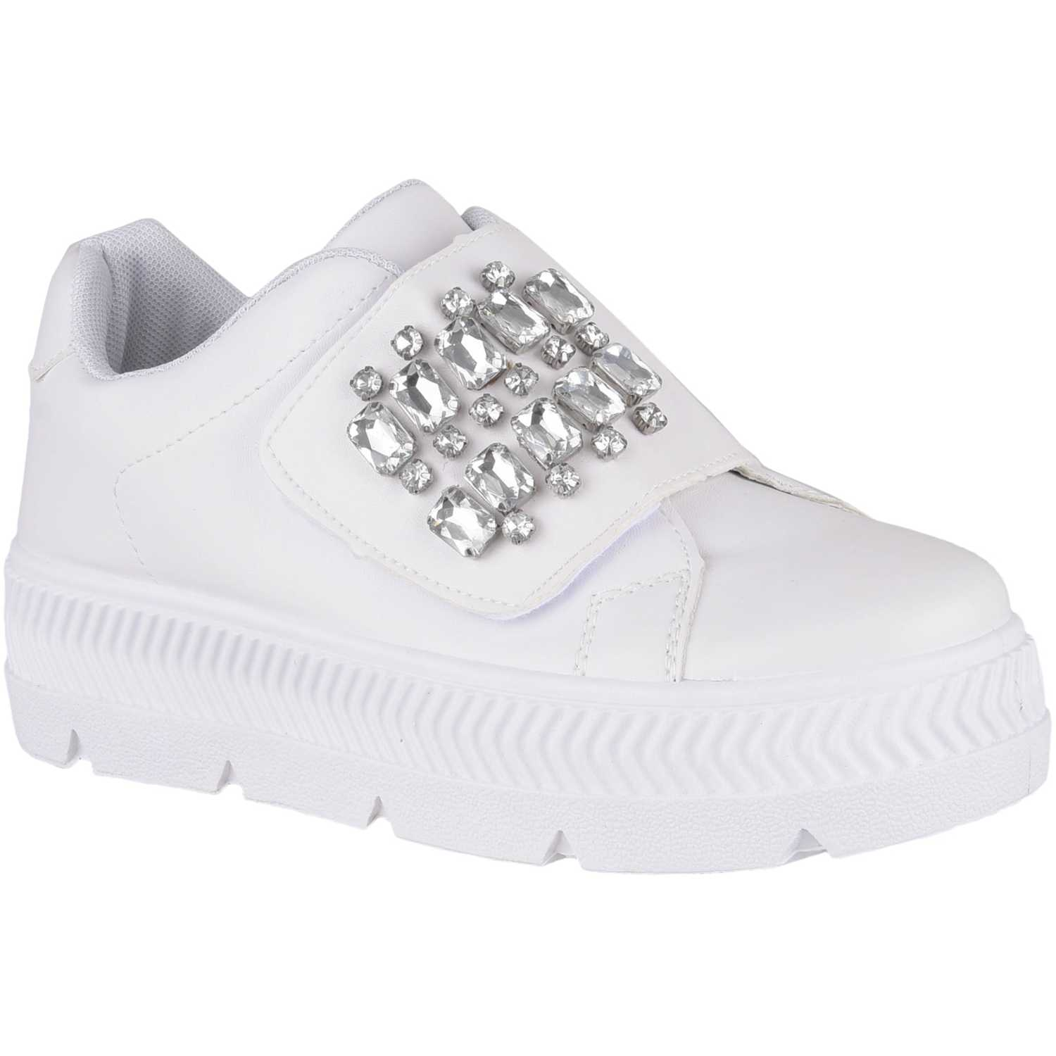 Just4u zc 7c12 Blanco Zapatillas Fashion