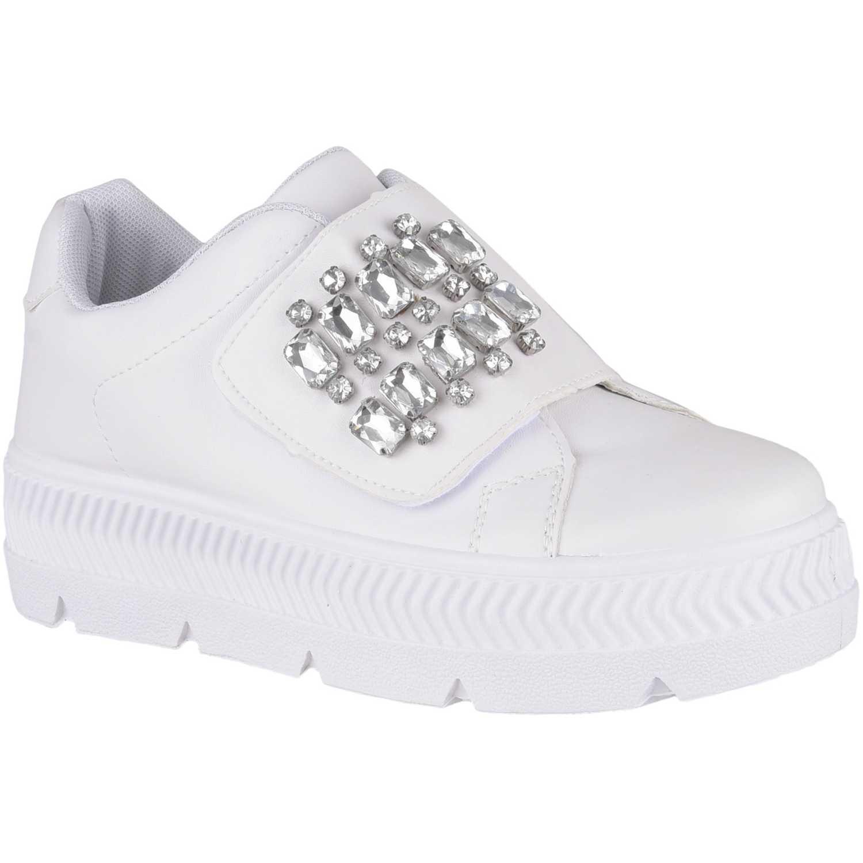 Zapatillas de Mujer Just4u Blanco zc 7c12