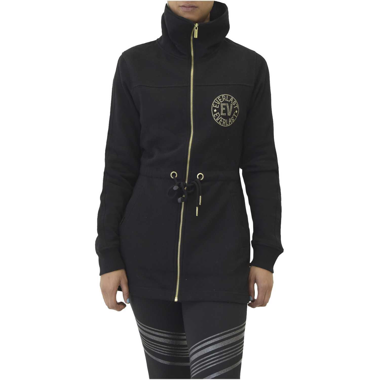 Base de Mujer  Negro chaqueta to walk
