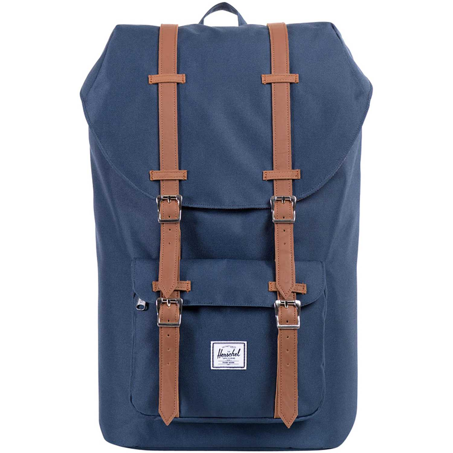 HERSCHEL Little America Navy Tsl Bp Azul / marrón Mochilas multipropósitos
