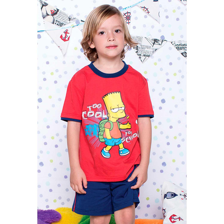 Pijama de Jovencito Kayser Rojo s7437
