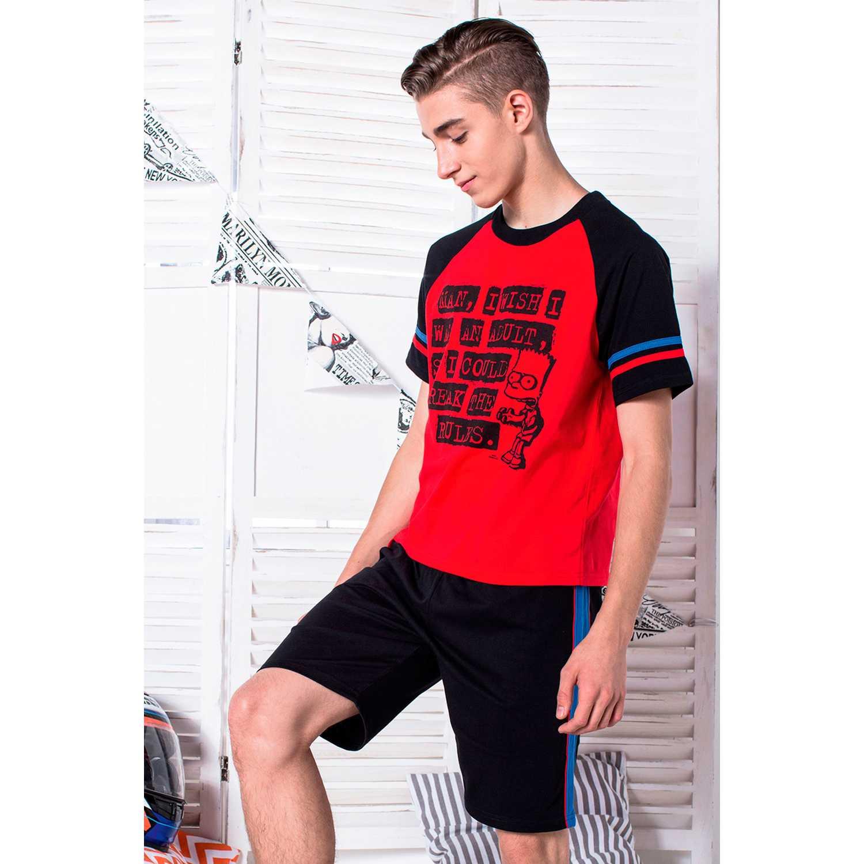 Pijama de Jovencito Kayser Rojo s7637