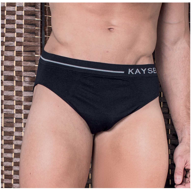 Ropa Interior Y Pijamas de Hombre Kayser Negro 91.143-neg