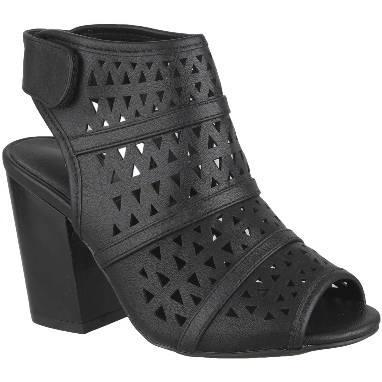 Sandalia de Mujer Platanitos Negro sbt 2233