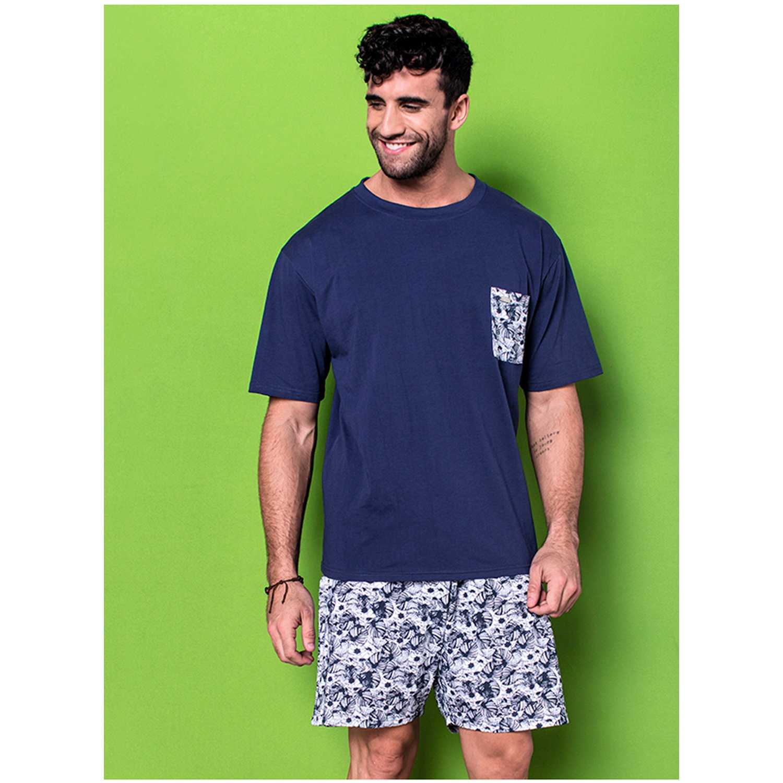 Pijama de Hombre Kayser Azul 77.58