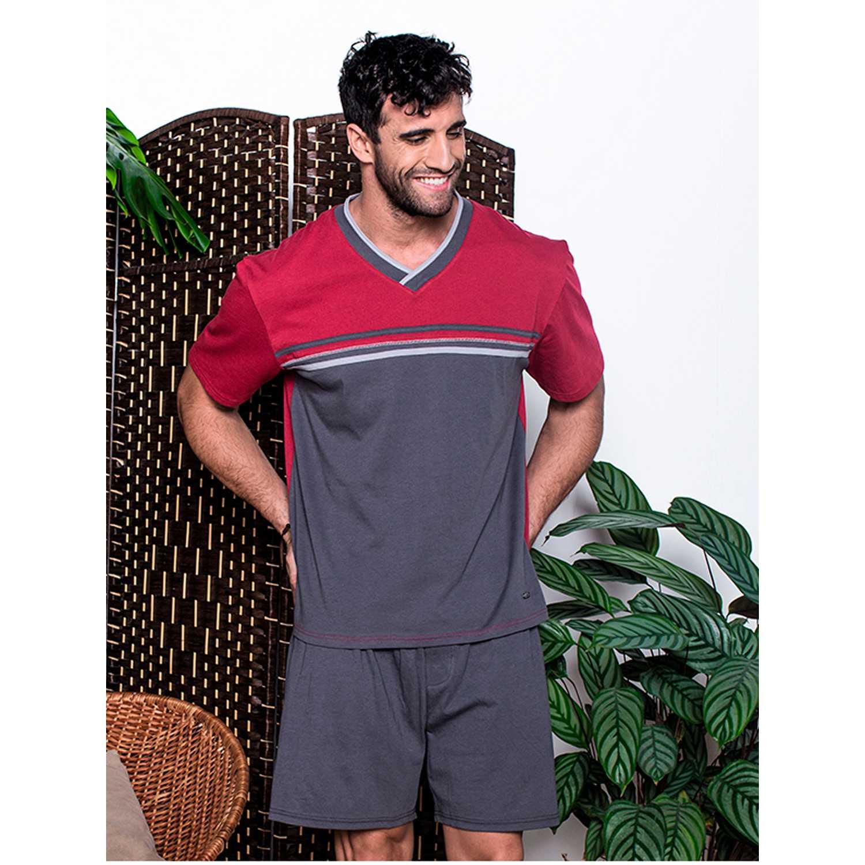 Pijama de Hombre Kayser Burdeo 77.581