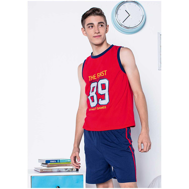 Pijamas de Niña Kayser Rojo 76.583