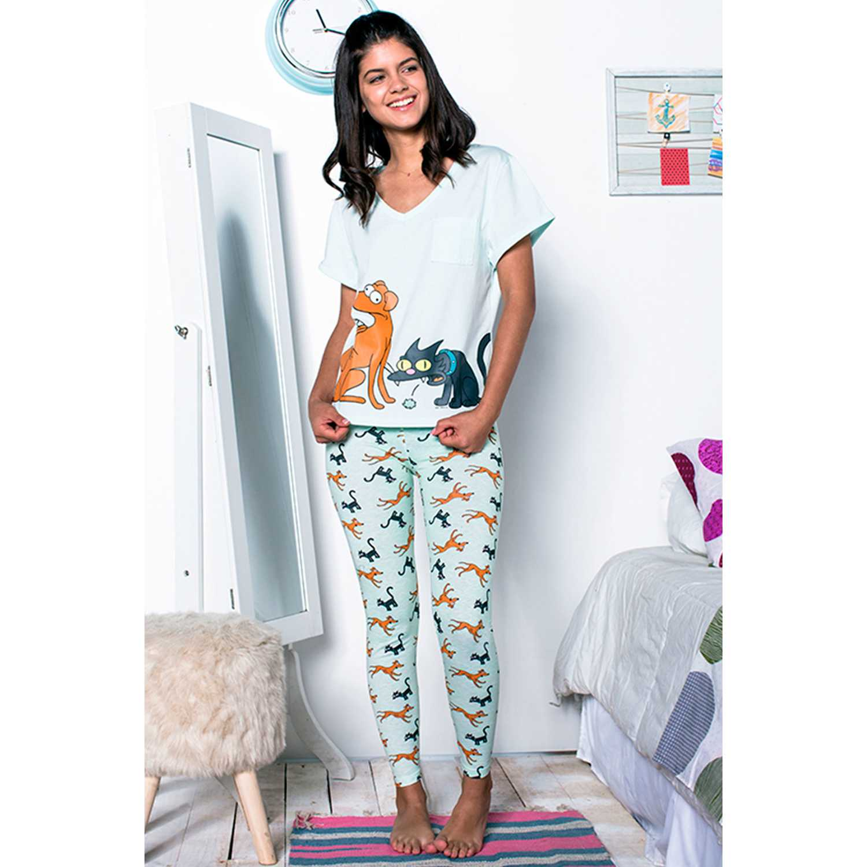 Kayser s7531 Celeste Sets de Pijama