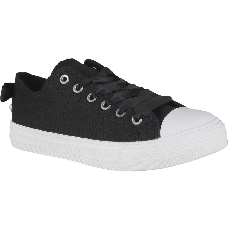 Zapatillas de Mujer Just4u Negro zc 7002