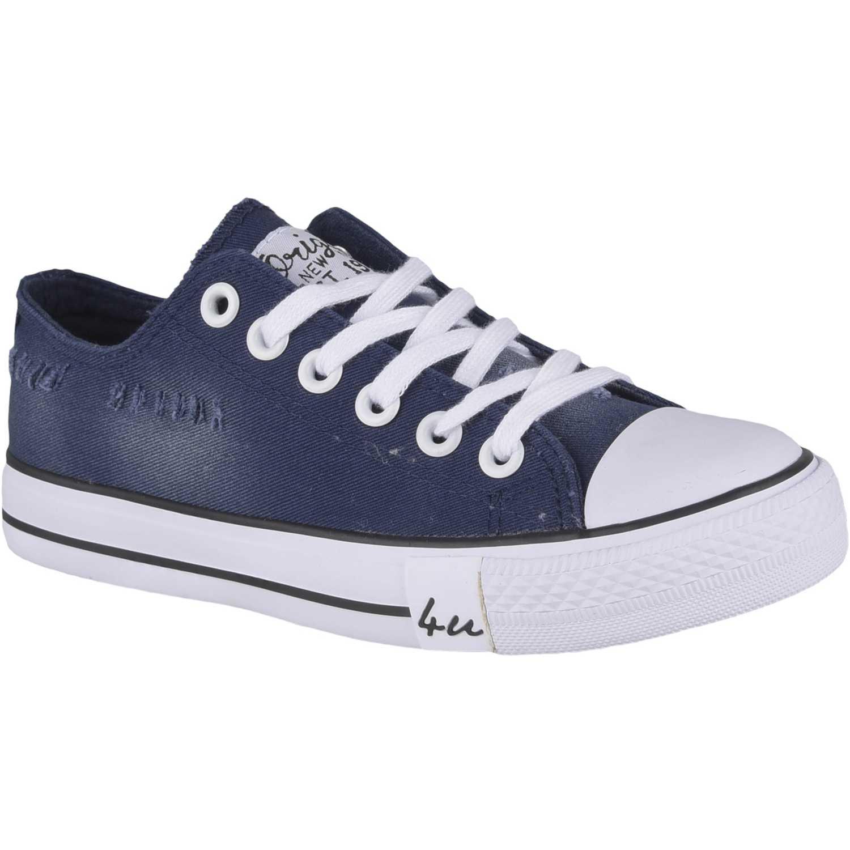 Zapatillas de Mujer Just4u Azul zc 7029